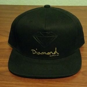 Diamond Supply Co. Flatbill Sports Cap